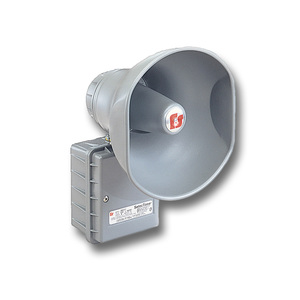 Federal Signal 300GCX-024 Sounder, Hazardous Location, 24V AC / DC, .67A, 110dB @ 10', NEMA 4X, Gray