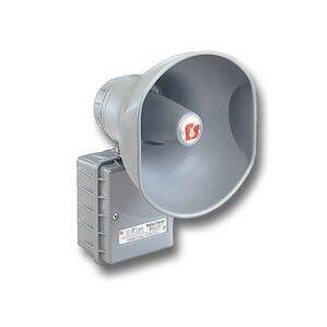 Federal Signal 302GC-024 Speaker Amplifier, 24VDC, 1.0A, 114 dB @ 10 Feet, Aluminum