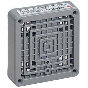Federal Signal 350-024-30 Vibratone Horn, 24V AC, 0.90A, 100 dB @ 10 ft, Gray, Zinc Die Cast
