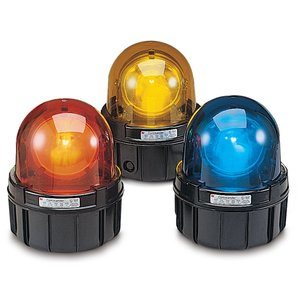 """Federal Signal 371-120A Beacon, Type: Incandescent/Rotating, 120VAC, 1.75A, Pipe Mount 1"""""""