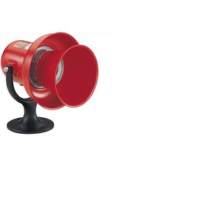 Federal Signal A-120 Electric Siren, NEMA 3R, 120VAC/DC, 1.9A, 103dB @ 10', Metal Housing