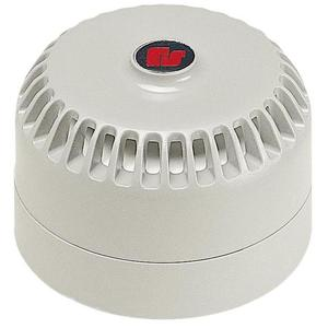 Federal Signal LP4-09-028 Low Profile Mini Sounder, 9-28V DC, White, 28 Tones