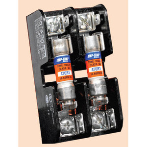 Ferraz 30353 Fuse Block, Midget, 3P, 30A, 600V AC/DC, Copper, Box Lug