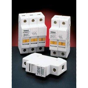 Ferraz USM1 Fuse Holder, Class M, 1P, 30A, 800VAC, 1000VDC, DIN Rail Mount