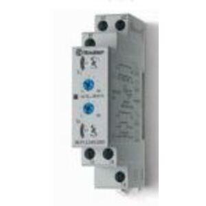 Finder Relays 80.01.0.240.0000 Timing Relay, Multi-Function, Multi-Range, 1C/O, 12 - 240V AC/DC