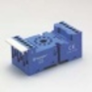 Finder Relays 90.03 Socket, 11-Pin, Double A1 Terminal, for #60.13 Relay, Blue