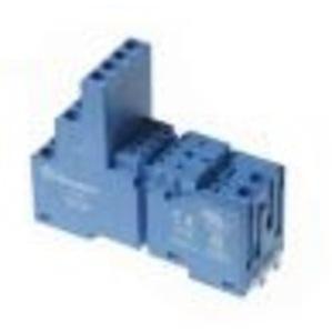 Finder Relays 94.04 Socket, 14 Blade, Screw/Clamp Terminals, Standard, 10A@250VAC