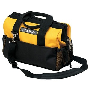 Fluke C550 25-Pocket Tool Bag w/ Removeable Strap - Black/Yellow