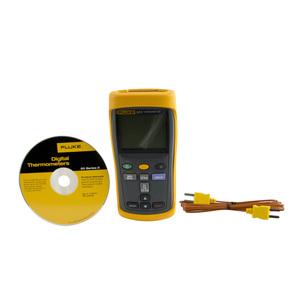 Fluke FLUKE-52-2-60HZ Digital Thermometer, -210°C to 1372°C