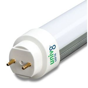Forest Lighting T8U460-15 4' LED Tube, 6000K, 15 Watt, 100-277V, 50/60Hz