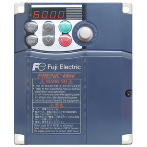 Fuji Electric FRN0010C2S-2U Variable Speed Drive, Frenic, 2HP, 240VAC, 8A, 3PH, No Brake