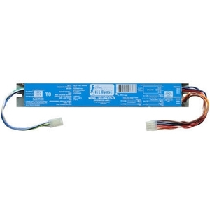 Fulham IH2-UNV-270-T8 Electronic Ballast, Fluorescent, T8, 2-Lamp, 70W, 120/230/277V