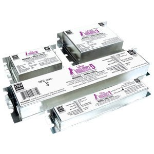 Fulham WH22-120-C Electronic Ballast, Compact Fluorescent, 2-Lamp, 26W, 120V