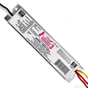 Fulham WH3-120-L Electronic Ballast, Fluorescent, T8, 3-Lamp, 32W, 120/230/277V