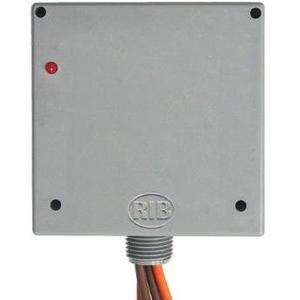Functional Devices RIB01P30 Relay, Power Control, 30A, DPST, 120VAC Coil, Enclosed, NEMA 1