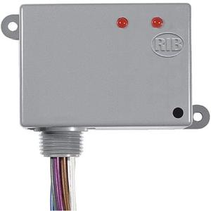 Functional Devices RIBU2C Relay, Pilot Control, 10A, 10-30VAC/DC, 120VAC Coil, SPDT, Enclosed