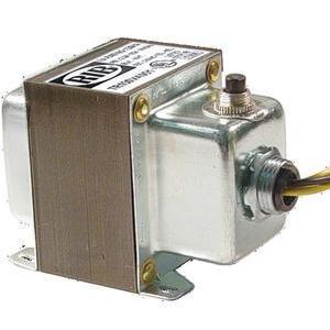Functional Devices TR100VA001 Transformer, 100VA, 120VAC -24VAC, 1PH, with Breaker