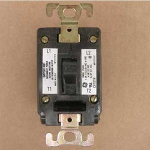 GE Industrial CR101H Manual Starter, 2P, Toggle Switch, Open, 3/4HP