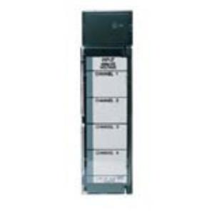 GE Industrial IC693ALG220 I/O Module, Analog Input, Voltage, 4 Channel, +/- 10VDC