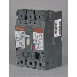 GE Industrial SELA36AT0100 Breaker, Molded Case, Spectra, 3P, 600V, 100A, Frame, 65kAIC