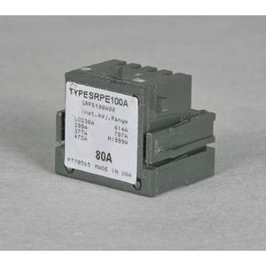 GE Industrial SRPE60A40 Rating Plug, 40A, 480VAC, 118-501 Trip Range, Spectra Series