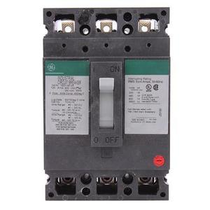 GE Industrial TED136125 3 Pole 600vac  125a Breaker