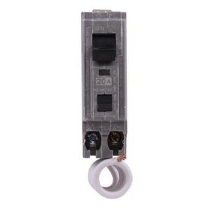 GE Industrial THQB1120AF Breaker, 20A, 1P, 120/240V, Q-Line Series, 10 kAIC, Bolt-On, AFCI
