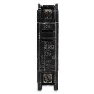 GE Industrial THQC1120WL Breaker, 20A, 1P, 120/240V, Q-Line Series, 10 kAIC, Lug In/Lug Out