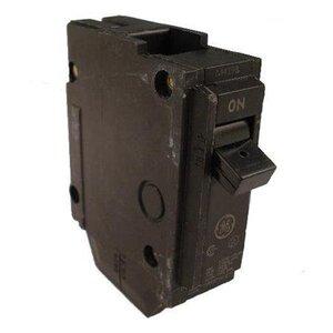 GE Industrial THQL1115 Breaker, 15A, 1P, 120/240V, 10 kAIC, Q-Line Series