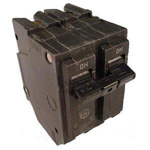 GE Industrial THQL2150 Breaker, 50A, 2P, 120/240V, 10 kAIC, Q-Line Series