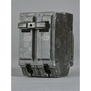 GE Industrial THQL22020 Thql 2 Pole 240v 10k Ic 20 Amp