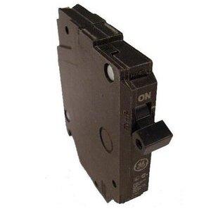 GE Industrial THQP115 Breaker, 15A, 1P, 120/240V, 10 kAIC, Q-Line Series, Thin