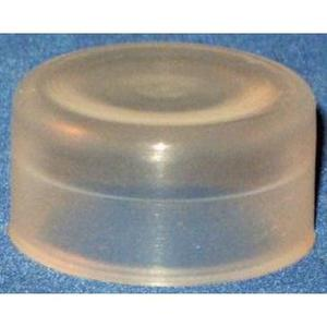 GE 080CPT Pilot Device, Clear Protective Cap, 22.5mm, Flush, Round