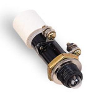 GE 116B6708G43R73R4 Indicator Light, ET-16, LED Lamp, Red, 125VDC