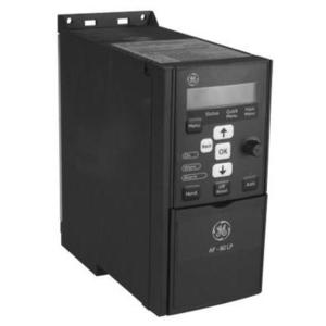 GE 6KLP43F50X9A1 Drive, Variable Frequency, 1.2A, 480VAC, 3PH, 0.37kW, IP20 Micro