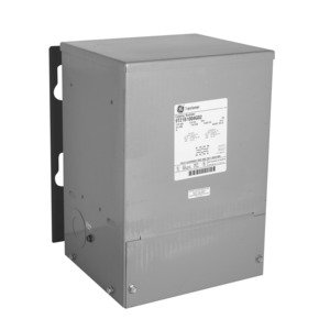 GE 9T21B1021G02 Transformer, Dry Type, 10KVA, 600VAC Primary, 120/240VAC Secondary