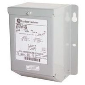 GE 9T51B0107 Transformer, Buck-Boost, 120/240 x 12/24V, 0.25 kVA, Type QB, 1PH