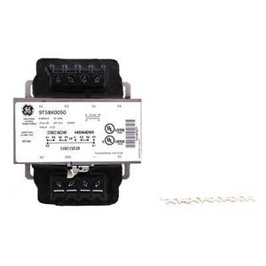 GE 9T58K4132 Transformer, Control, Terminal Connection, 100VA, 240x480-12/24