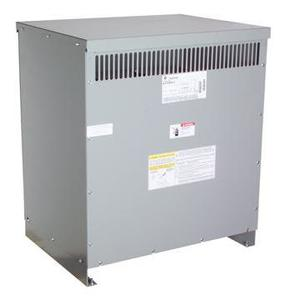 GE 9T83B3875 Transformer, Dry Type, 112.5KVA, 480V Primary, 208Y/120V Secondary
