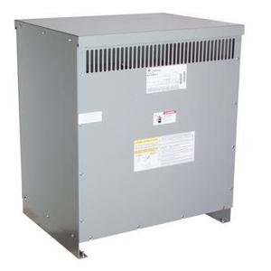 GE 9T83C9874G80 Transformer, Dry Type, 75KVA, 480V Primary, 208Y/120V Secondary