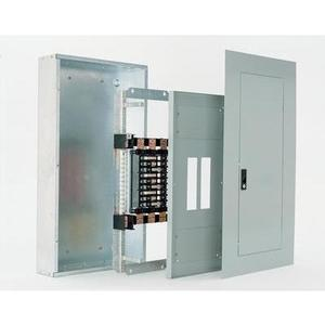 GE AQU3422RCXAXT1 Panel Board, Interior, 225A, 42 Circuit, 208Y/120VAC, 3PH, Al Bus