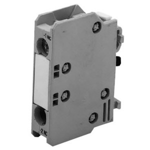 GE BCLF01 Auxiliary Contact Block, 1NC, Front Mount, for C-2000 Contactor