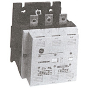 GE CK09BE311J Contactor, 192A, 3P, 460VAC, 110/127V AC/DC Coil, Open
