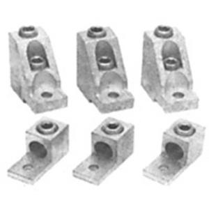 GE CKX02 Lug Kit, Anti-Turn, Copper Only, 6-350 MCM, CK09B/CK895B Contactors