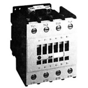 GE CL01AB00TJ Contactor, IEC, 4P, 14A, 460VAC, 120VAC Coil, Screw Terminal