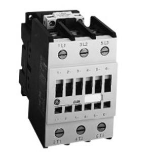 GE CL04AB00M1 Contactor, IEC, 32A, 460VAC, 4P, 24VAC Coil, 2NO/NC Contact