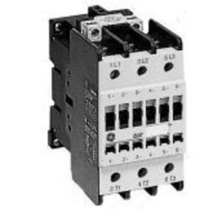 GE CL10E311MN Contactor, IEC, 96A, 250V AC/DC Coil, 460VAC, 3P, 1NO Auxiliary Contact