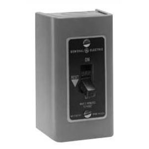 GE CR101H1 Manual Starter, 2P, Toggle Switch, NEMA 1, 3/4HP