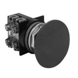 "GE CR104PBM00R6 Push Button, Red Mushroom, 2-3/8"", Operator Only, 10A, 600V"