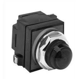 GE CR104PLG82G Indicator Light, Green, LED, 120VAC/DC